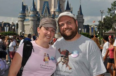 Us at the Magic Kingdom