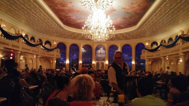 The Grand Ballroom - Be Our Guest restaurant - Magic Kingdom