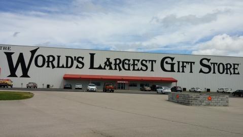 HUGE gift shop