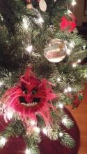 Animal like Christmas tree