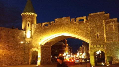 St. Louis Gate in Old Quebec