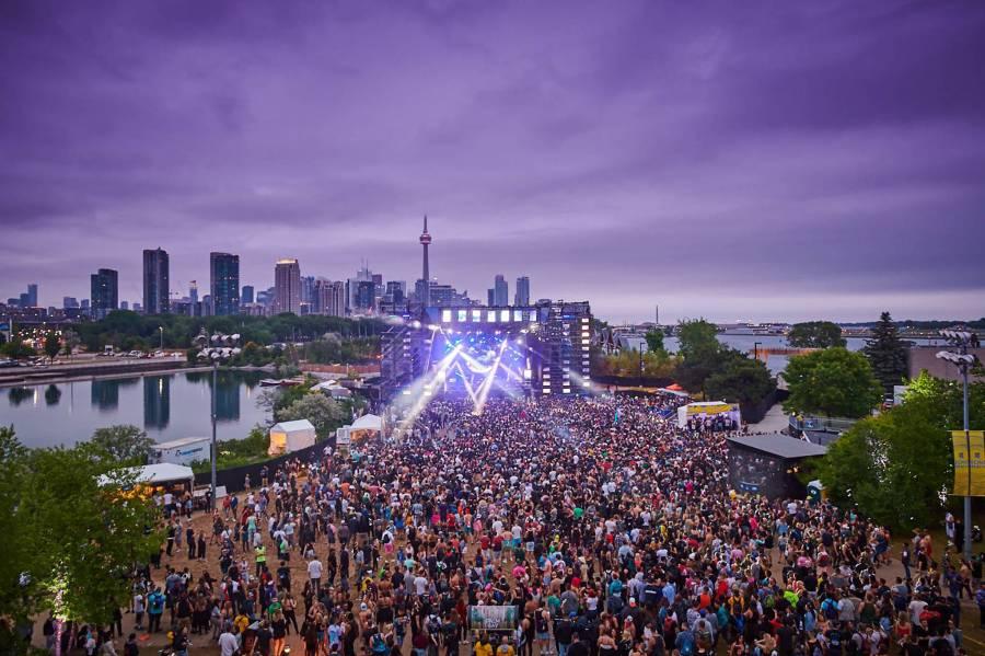 Echo Beach Concert site - Toronto